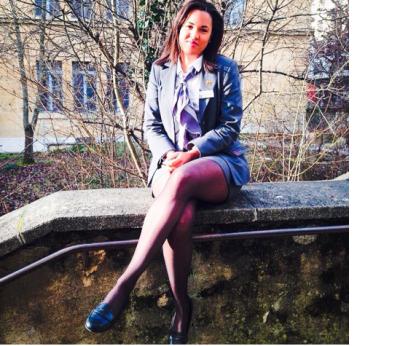 Flavia Dupal, berättar om karriären efter hotellutbildningen i Schweiz