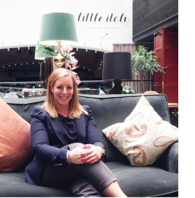 Angelica Suraga - karriärberättelse, hotell management & events