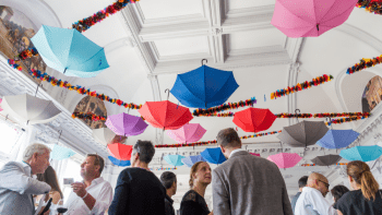 floating-colourful-umbrellas-in-ceiling