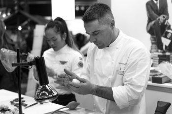 Pastry Chef Danna Vu and Chef Yann Muriset