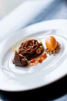 Chokladdesserten med havtorn vann guld