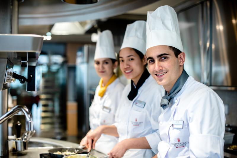 Studera till kock, Culinary Arts Academy Switzerland