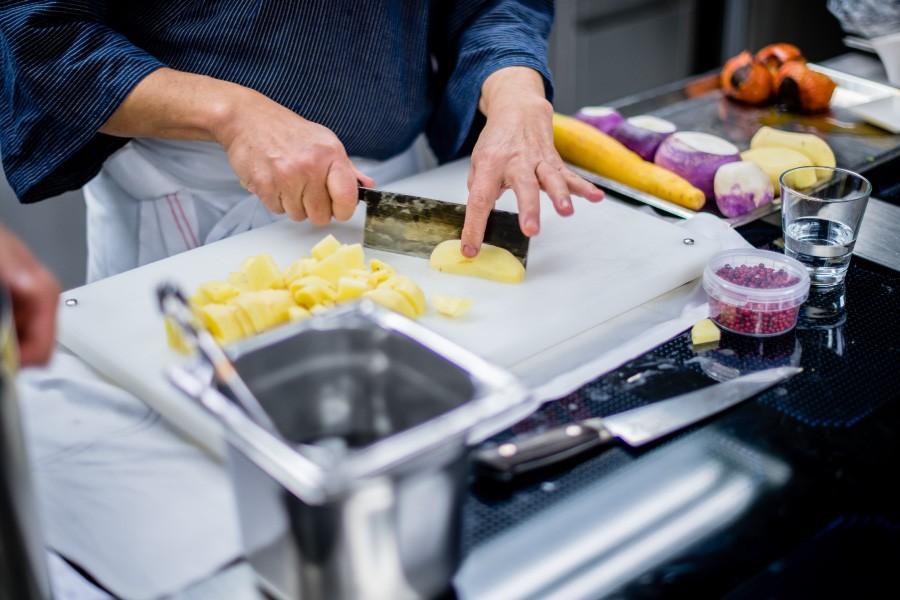 Studera till vegetarisk kock utomlands