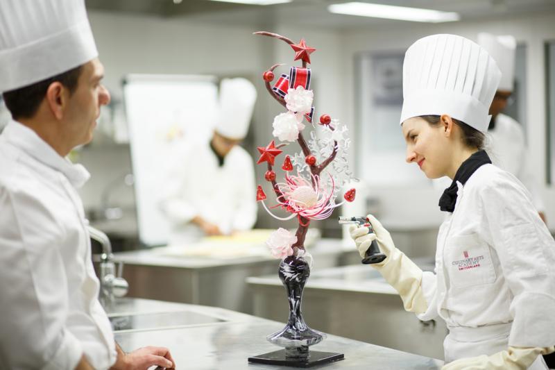 Studera konditori och chokladkonst i Schweiz