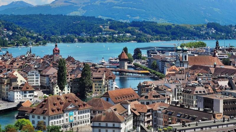 Lucerne, Schweiz - internationell studiemiljö