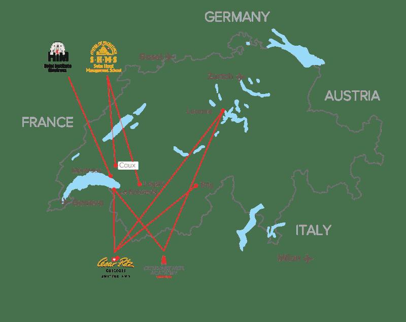 Studera utomlands i Schweiz, kock, konditor & hotell